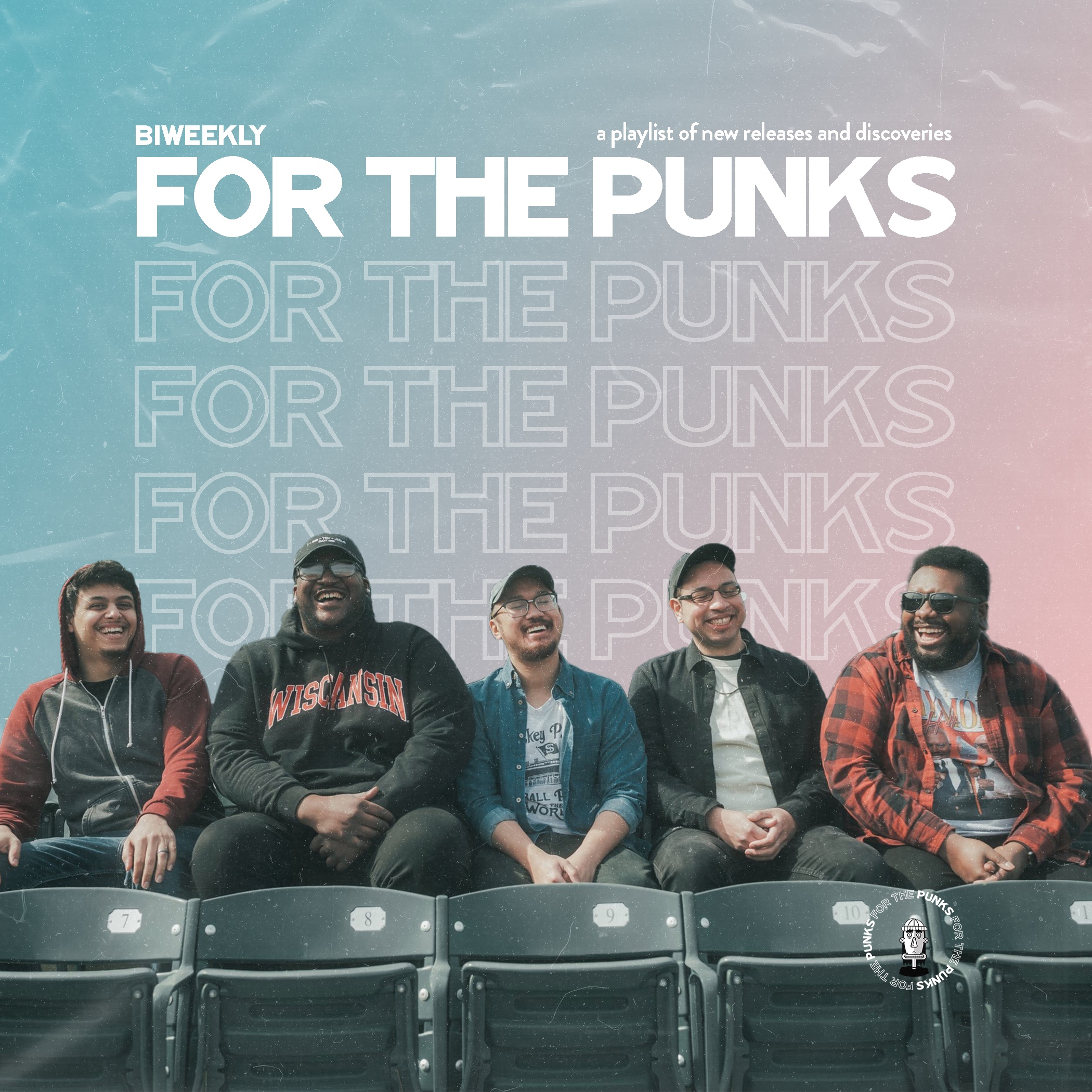 Spotify Playlist Cover for For The Punks featuring Action/Adventure